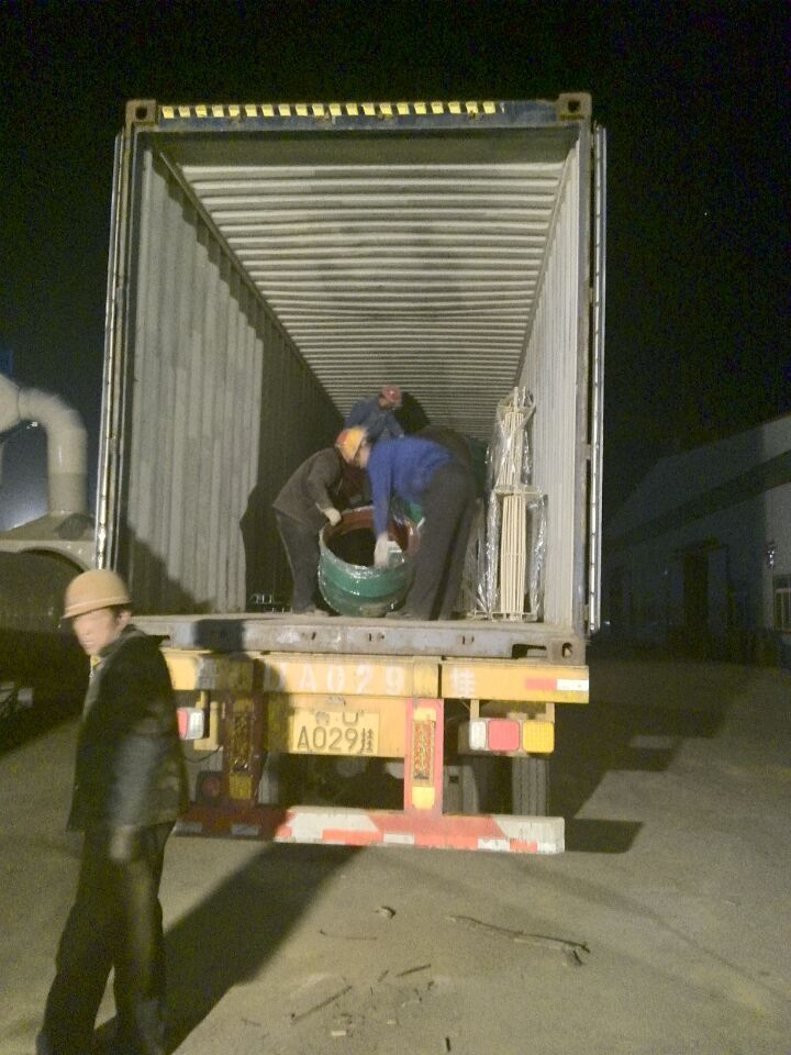 Russia container dispatching