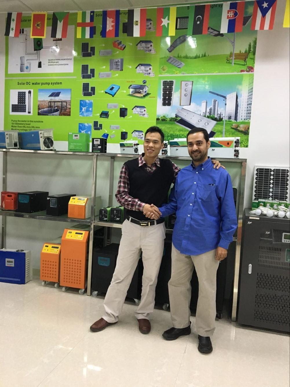 Middle east customer visit