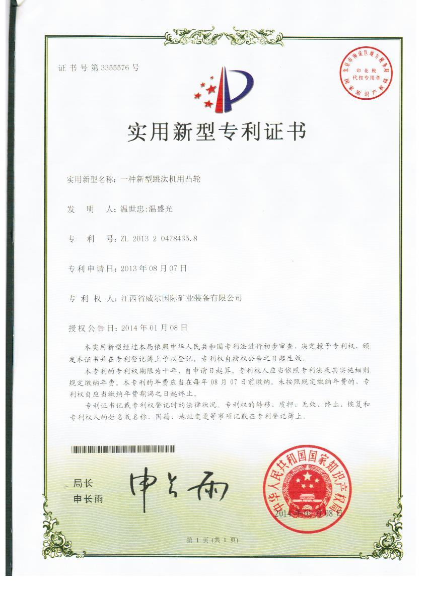 Jig patent