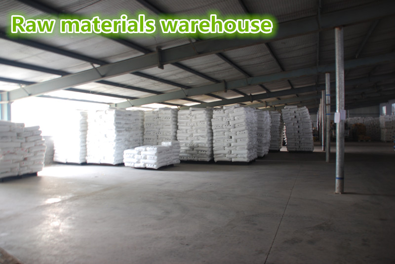 Raw material warehouse