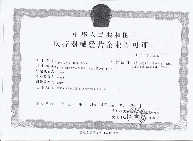 CFDA License-SU20160005