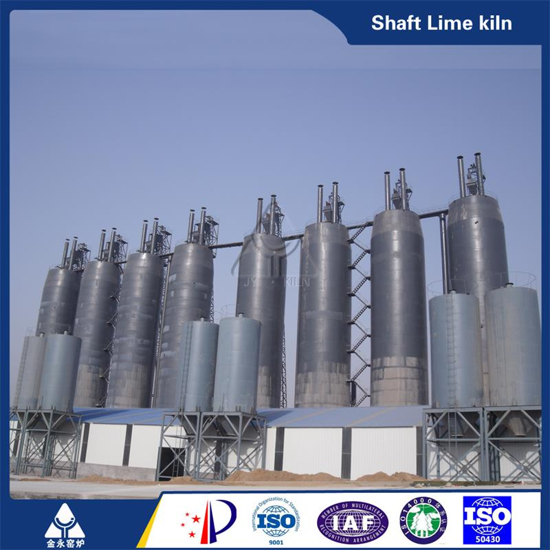 1600TPD High Capacity Vertical lime Production Line
