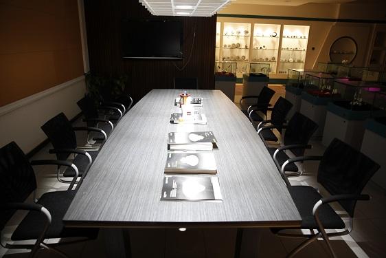 DGT Lighting Sample Room