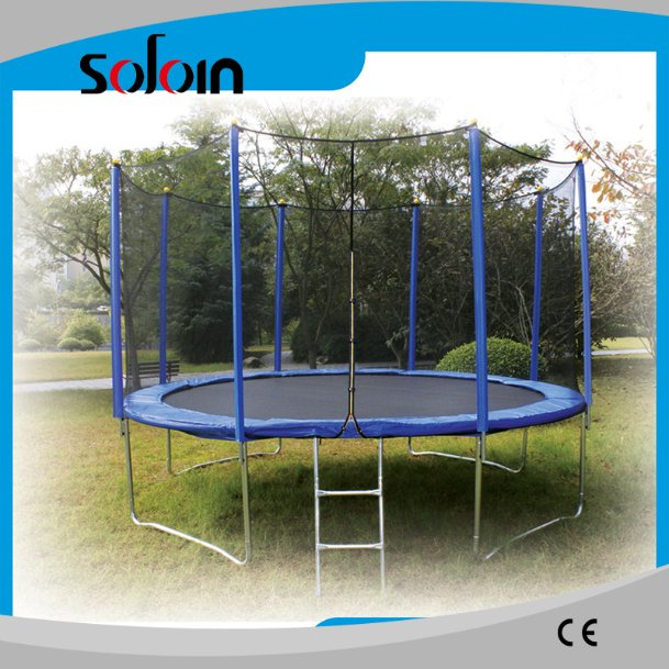 jump mats indoor/outdoor trampoline with safety net for kids