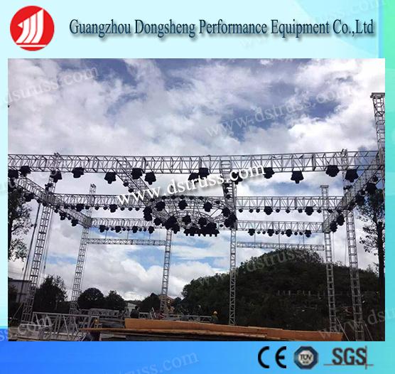 Performance Aluminum Alloy Spigot Lighting Stage Event Truss