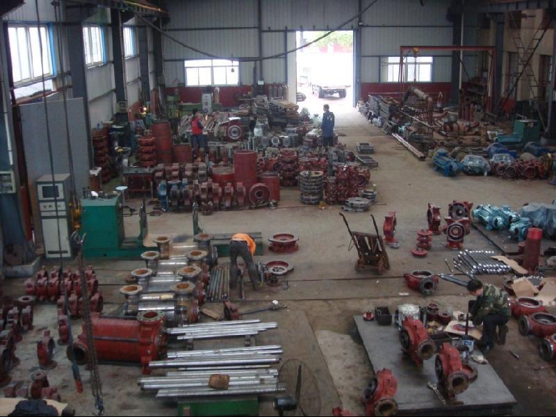 high pressure water pump assemble workshop