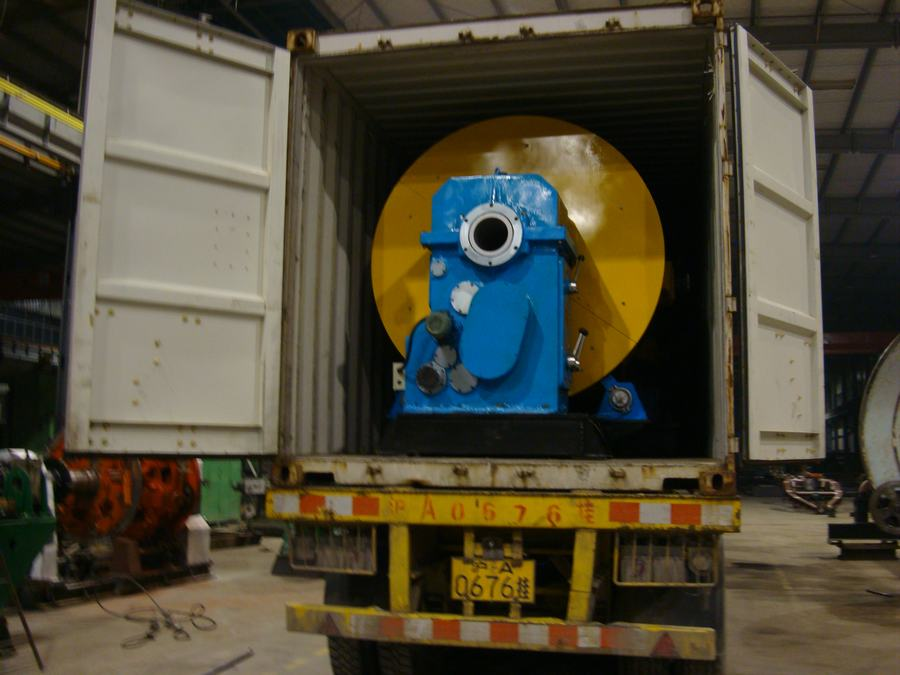 Planetary stranding machine destined for the United States