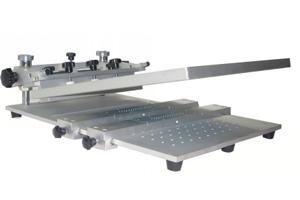 High precision manual screen printer T4030V