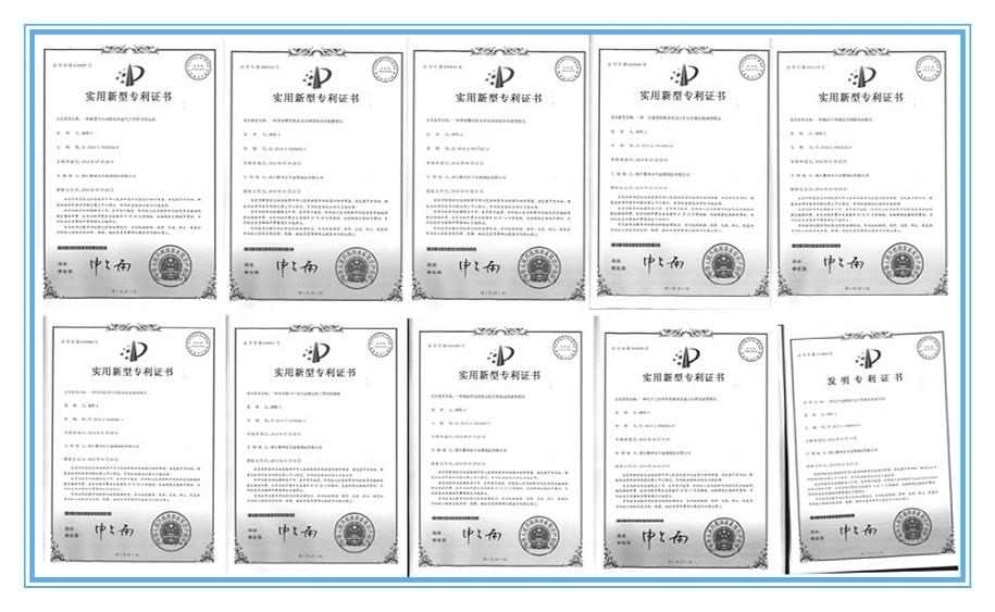 YONGFENG PATENTS
