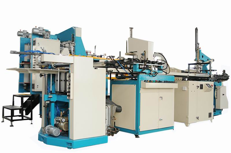LY-600ZH Automatic Rigid box machine
