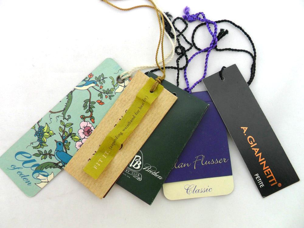 garment hang tag