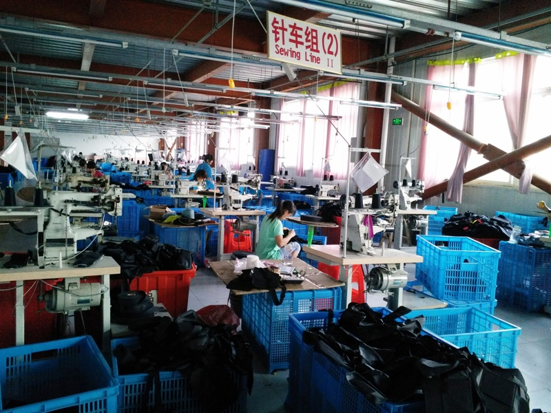 Factory productions sewing lines 2