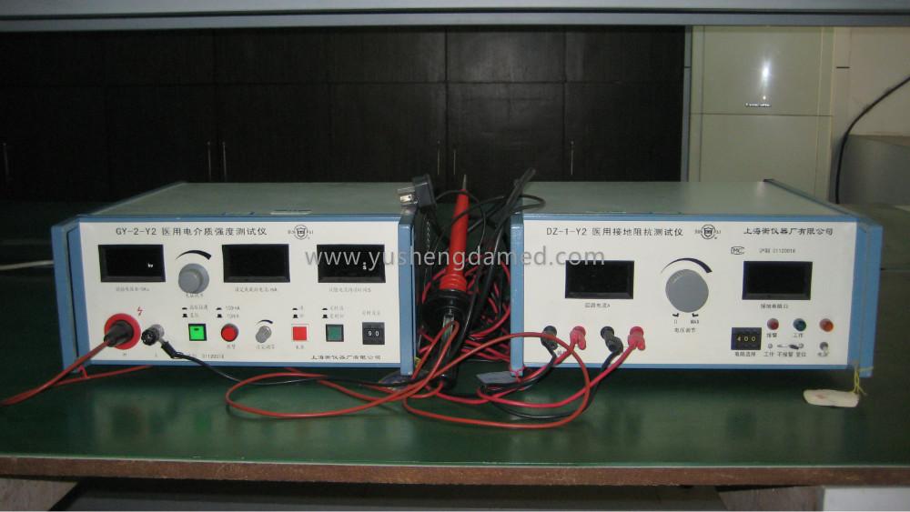 Ultrasound scanner testing equipment