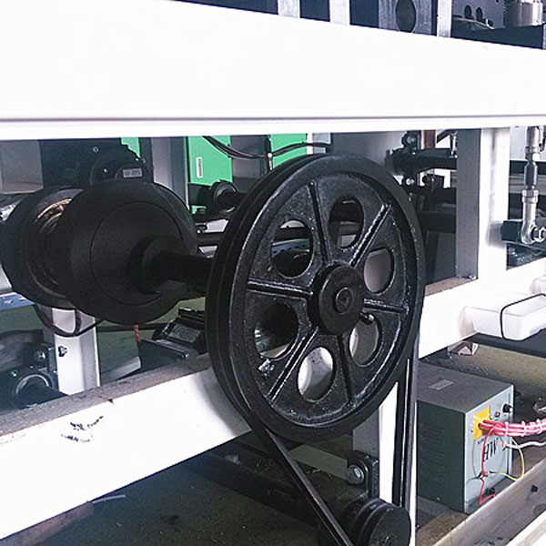 bag making Machine sturcture