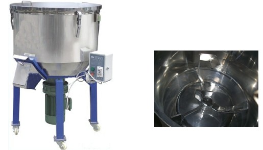 plastic granules flakes mixing machine for a Malaysia customer