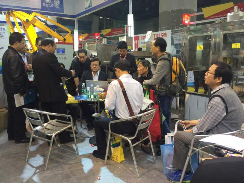 Customer placed an order in 2016 Chinacoat Exhibition