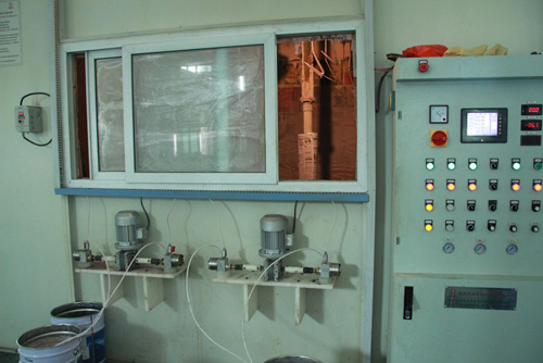 The New Puchased Painting Producing Line
