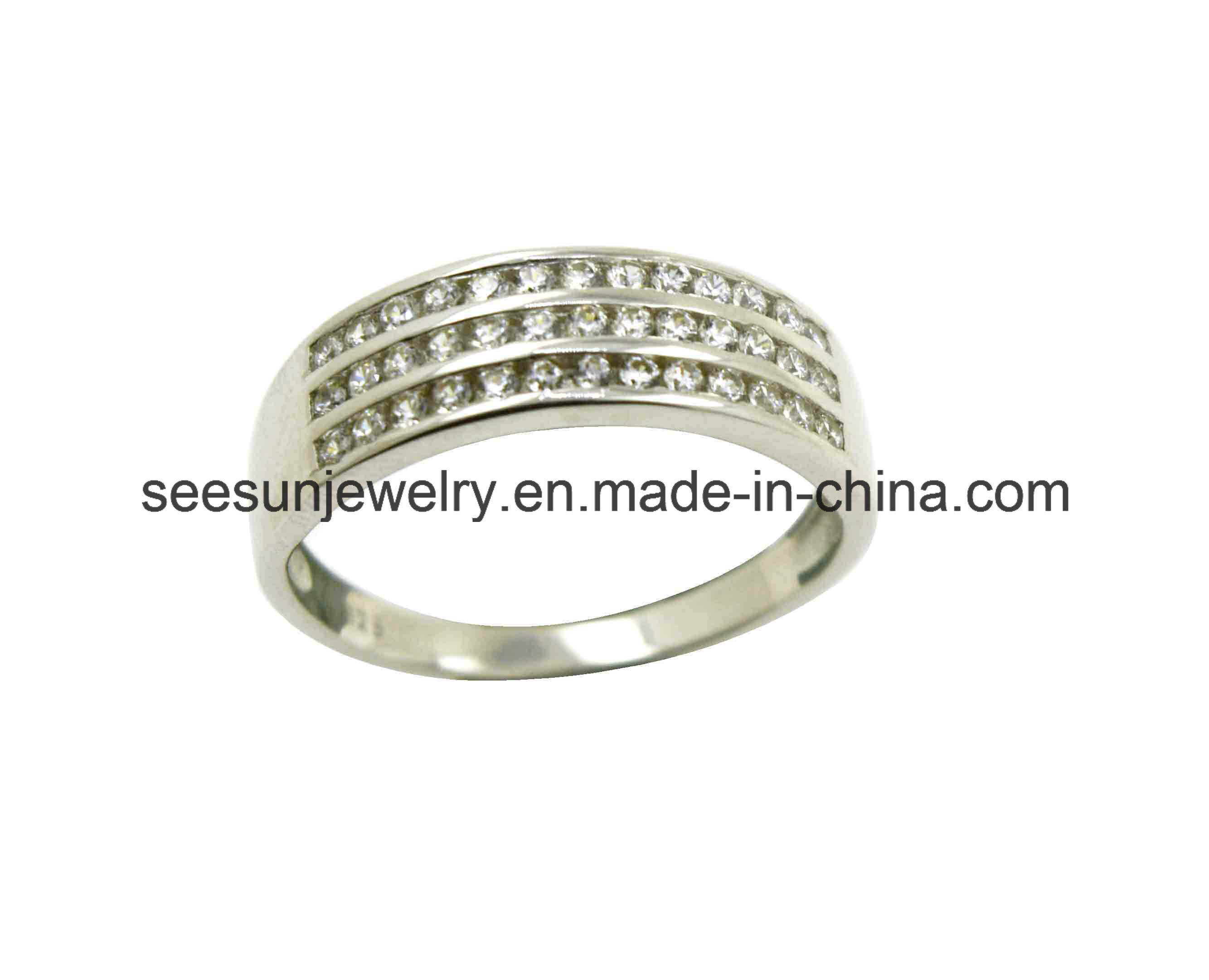 925 SILVER JEWLERY ETERNITY RING