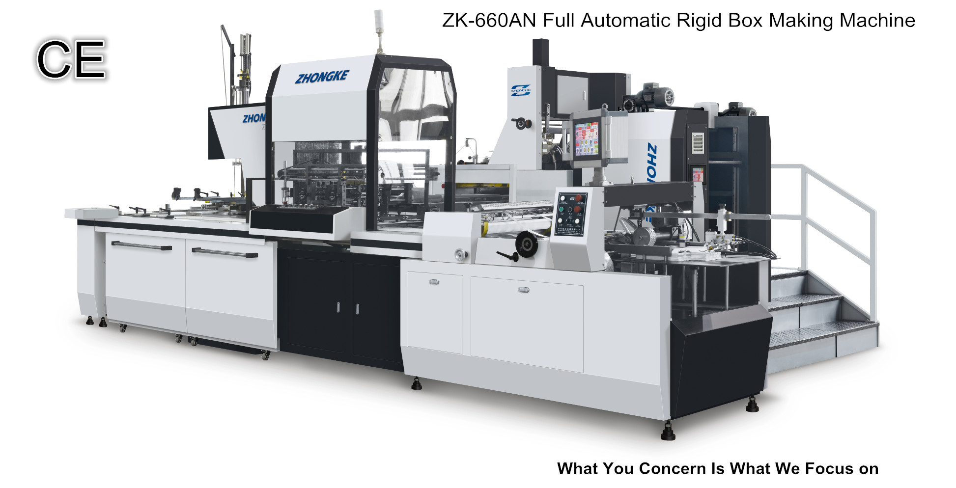 ZK-660ANrigid box machine (OEM factory in china)