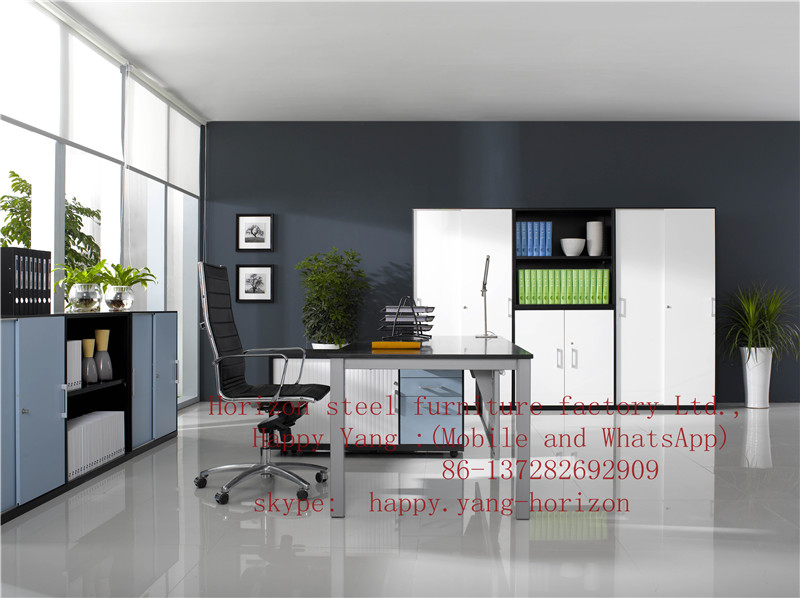 simple style for steel furniture combination 5-1