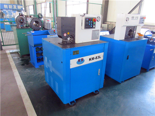hose crimping machine KM-83L-side open