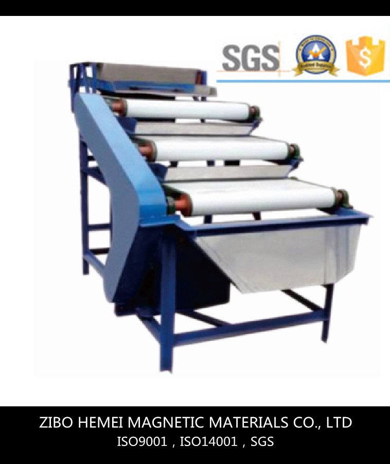 Magnetic separator for Quartz Sand, Minerals