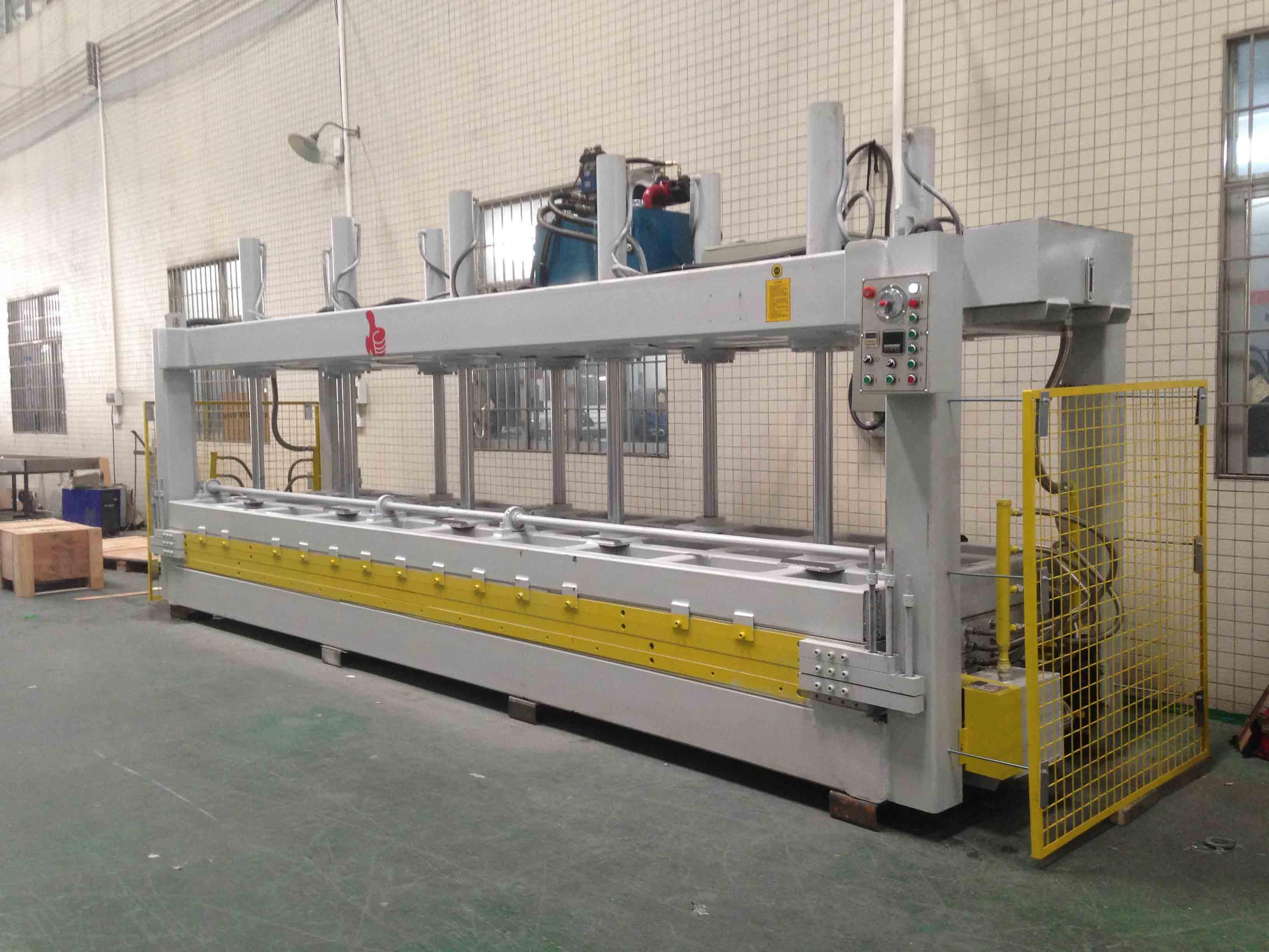 Hot Pressure Machine For Honeycomb Panel