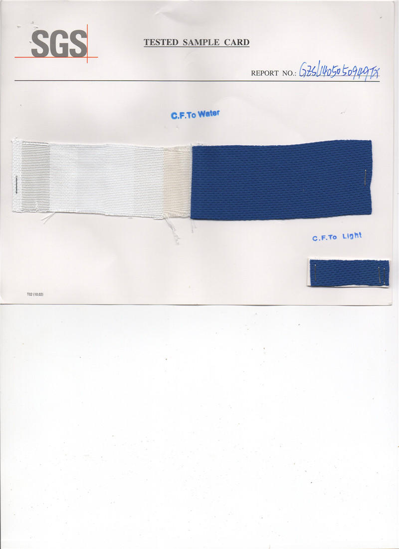 Fabric Material tested by SGS