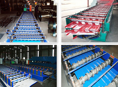 Color Coated Steel Roofing Sheet Product Line