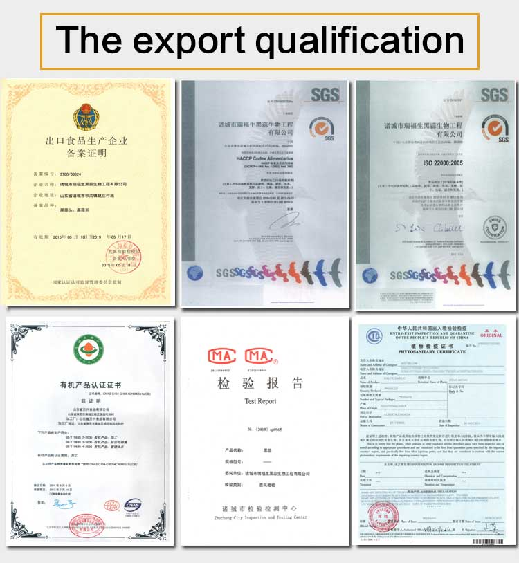 The export qualification certificate