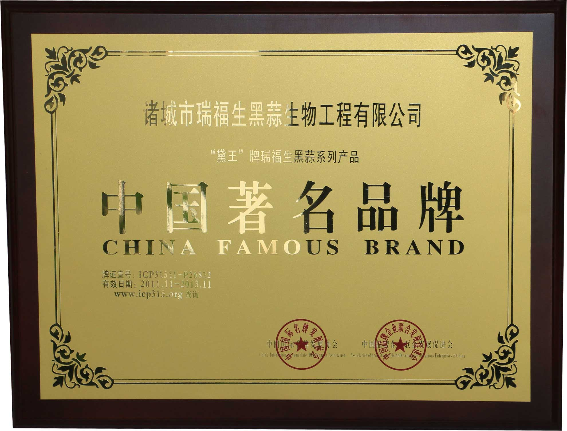 Chinese famous brand