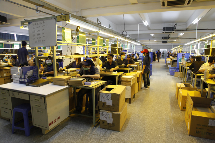 Production Line Zhuhai Nature Toner Co Ltd