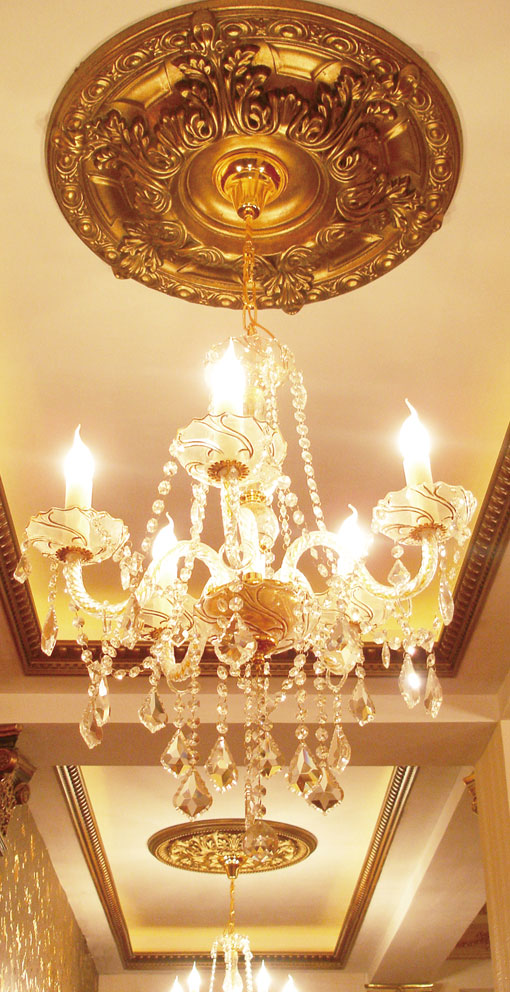 Effect of Luxurious Ceiling