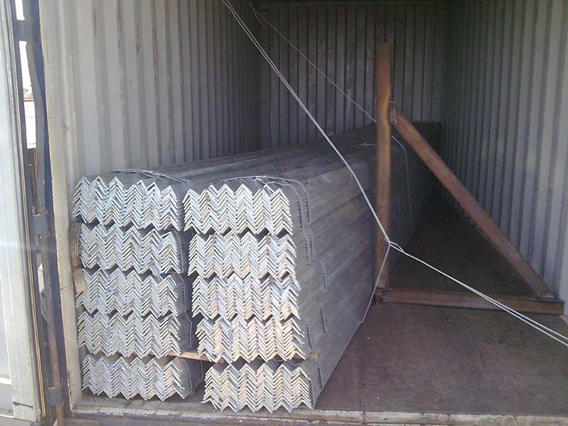 galvanized angle iron exporrting