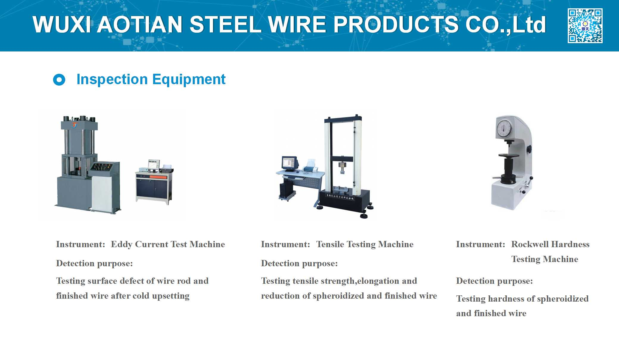 Ispection Equipments 2