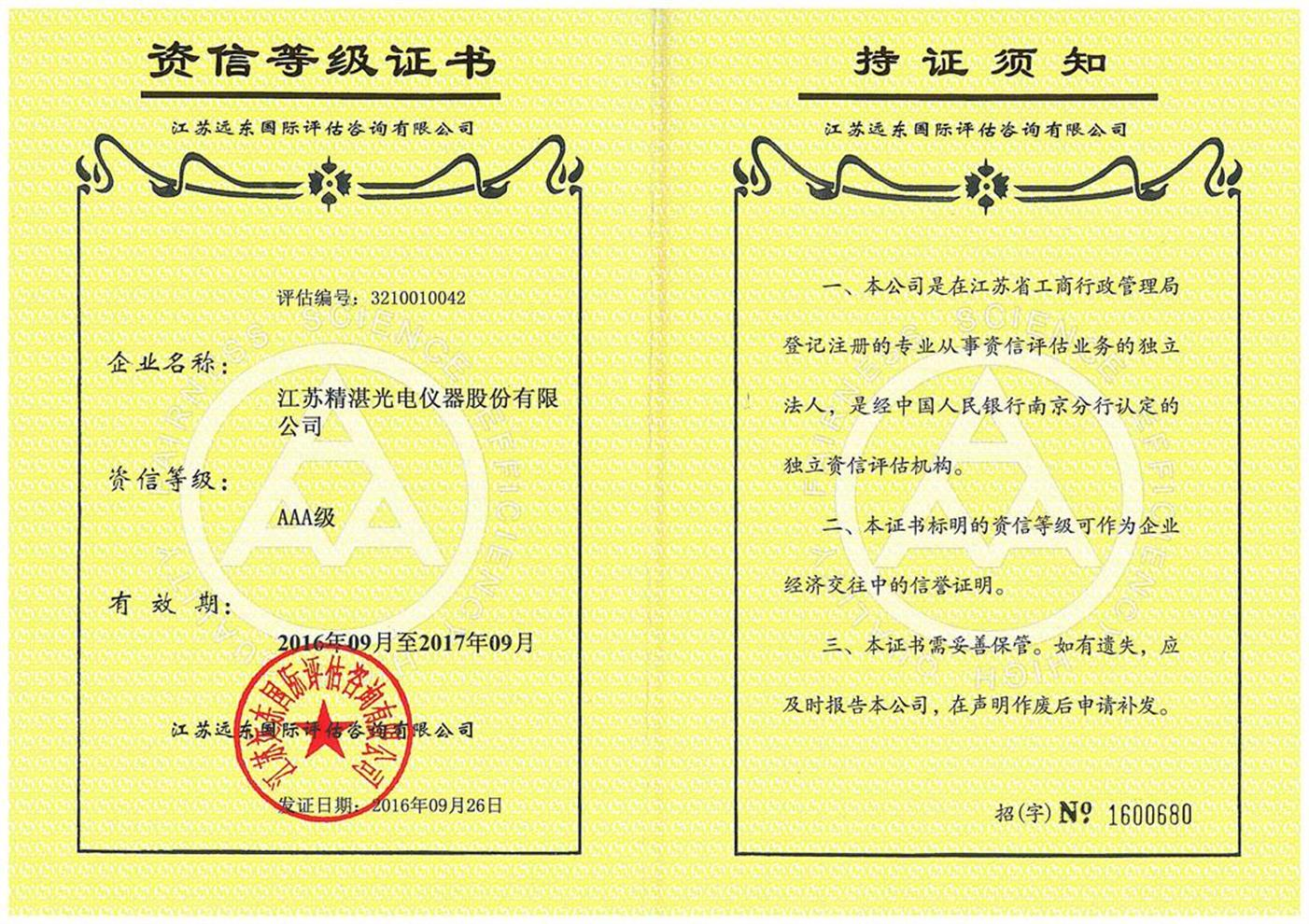 kinzo honor certificates