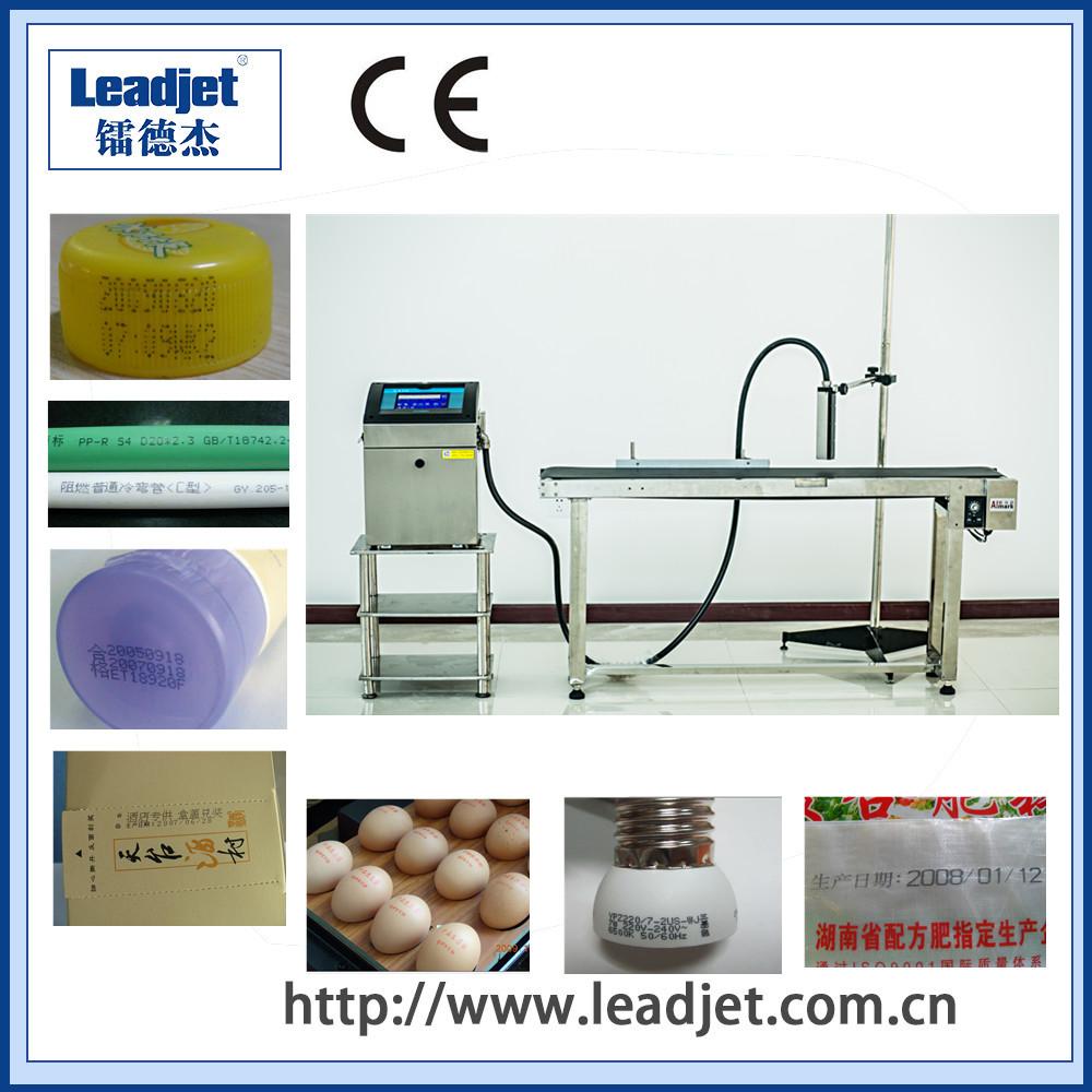 Easily operated Industrial CIJ inkjet printer for plastic bottles