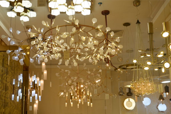 Modern Lamp Showroom