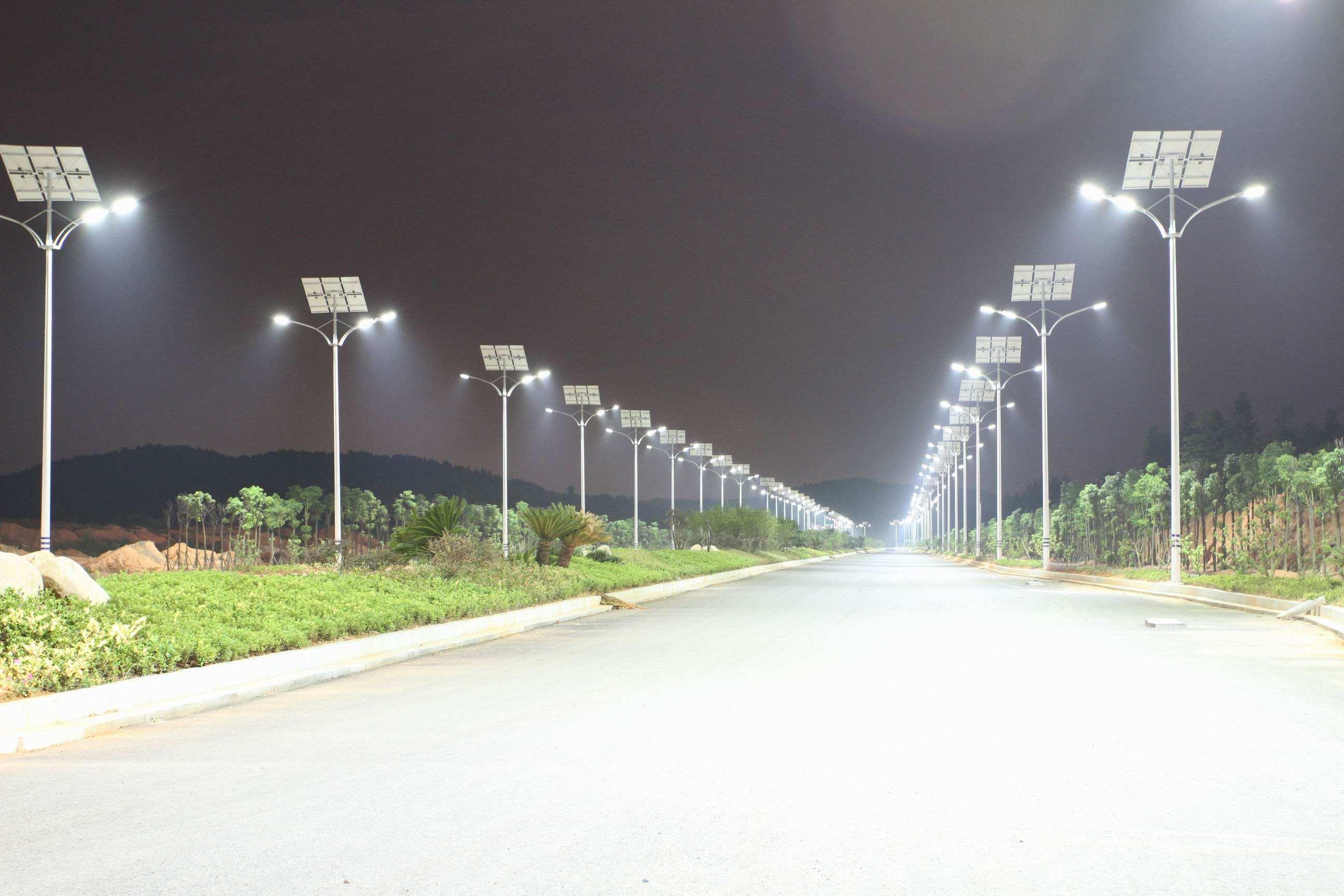 solar streel light
