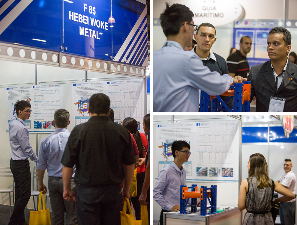 Our brand 'Hegerls' at the 30th MOVIMAT exhibition in Brazil