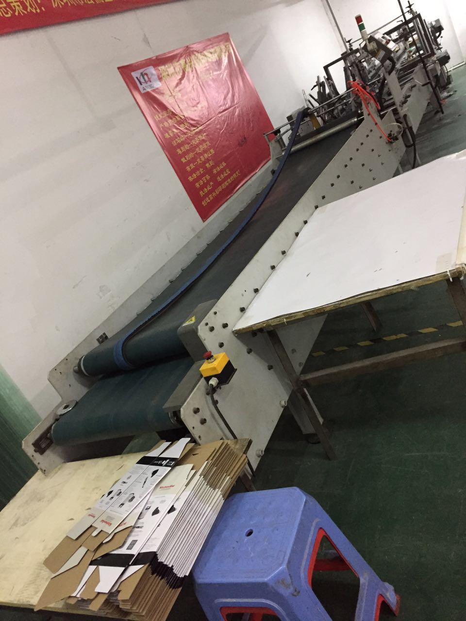 Automatic Box Gluing Machine