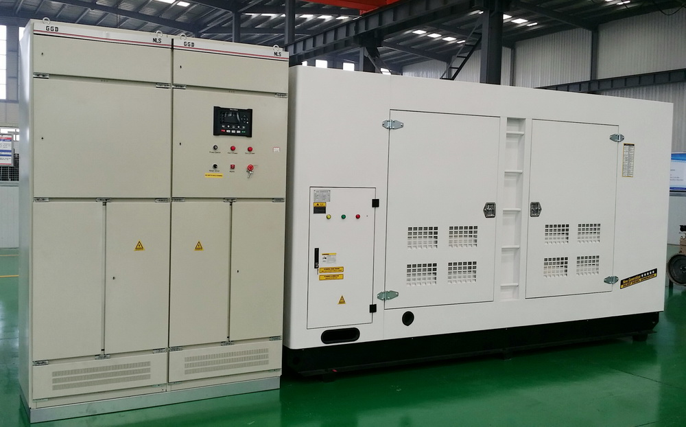700KVA Cummins Generator With Synchronizing System Ship to Philippines