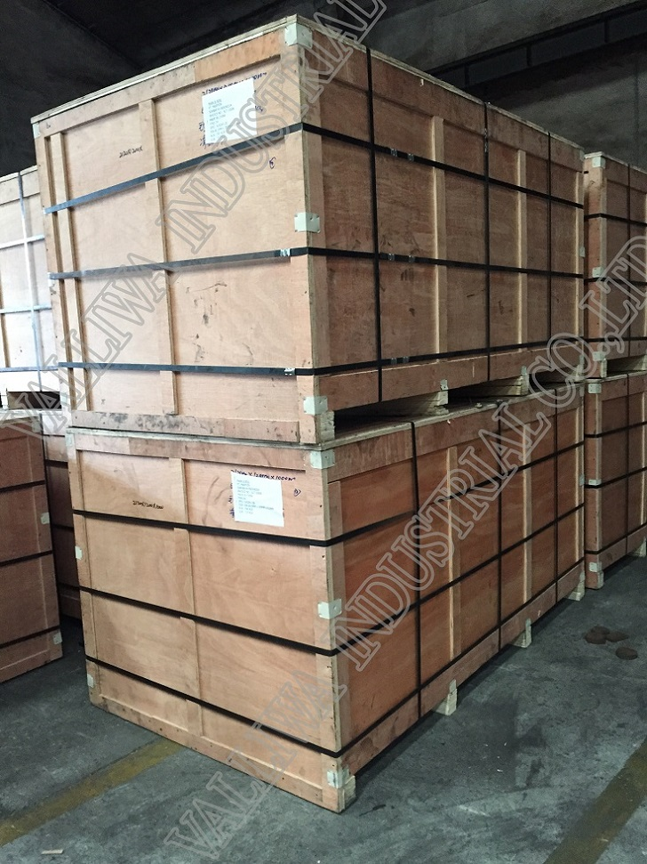 Package for Stainless steel pipes