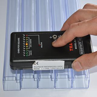 Anti-Static packaging tube