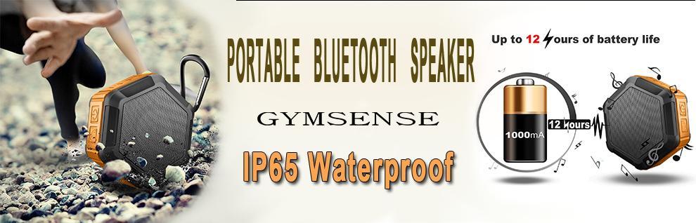 IPX65 Waterproof portable bluetooth speaker