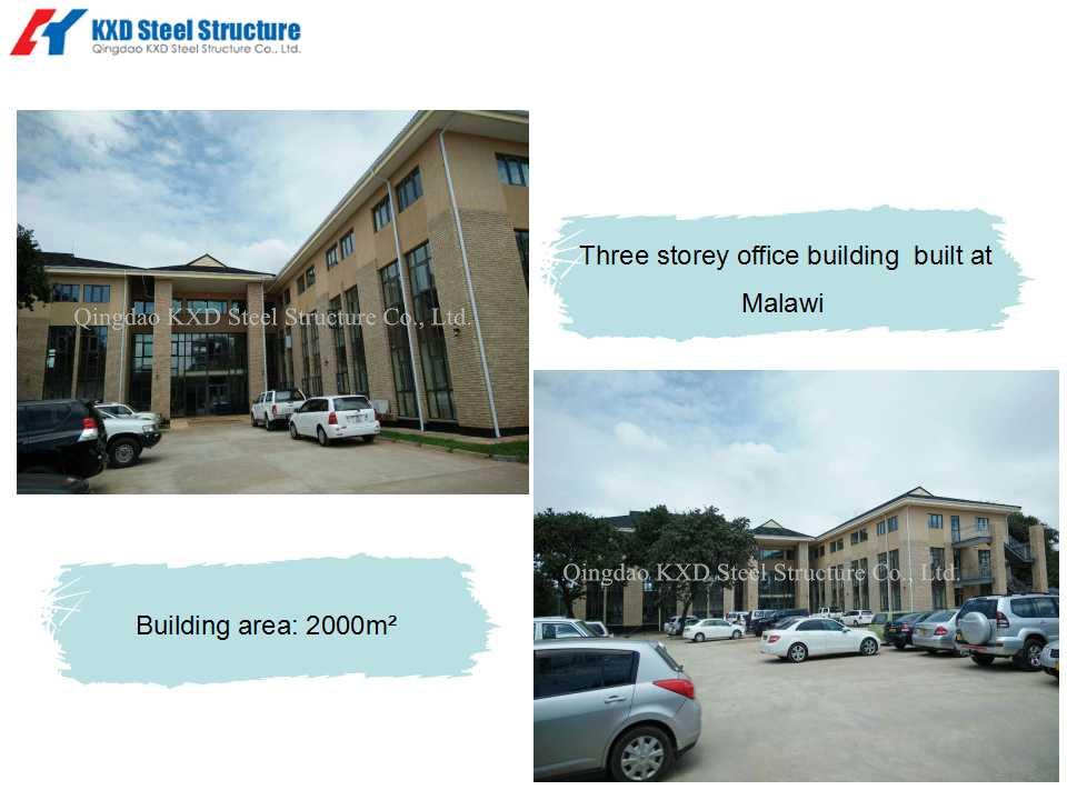 Three storey office building