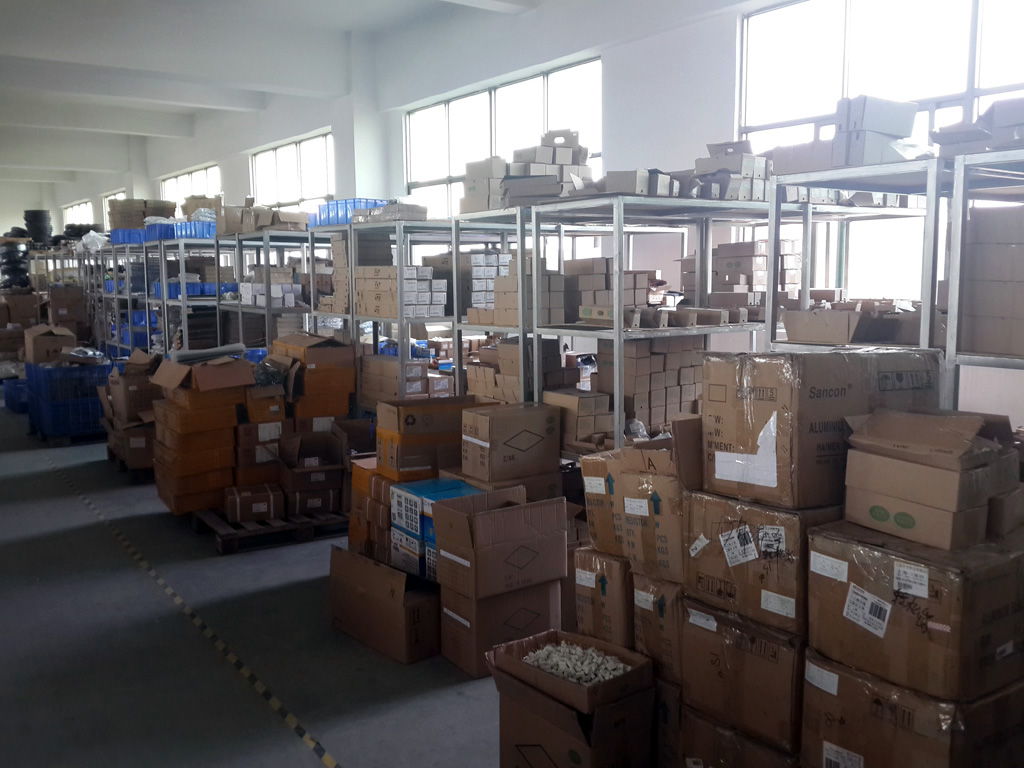 warehouse for raw material