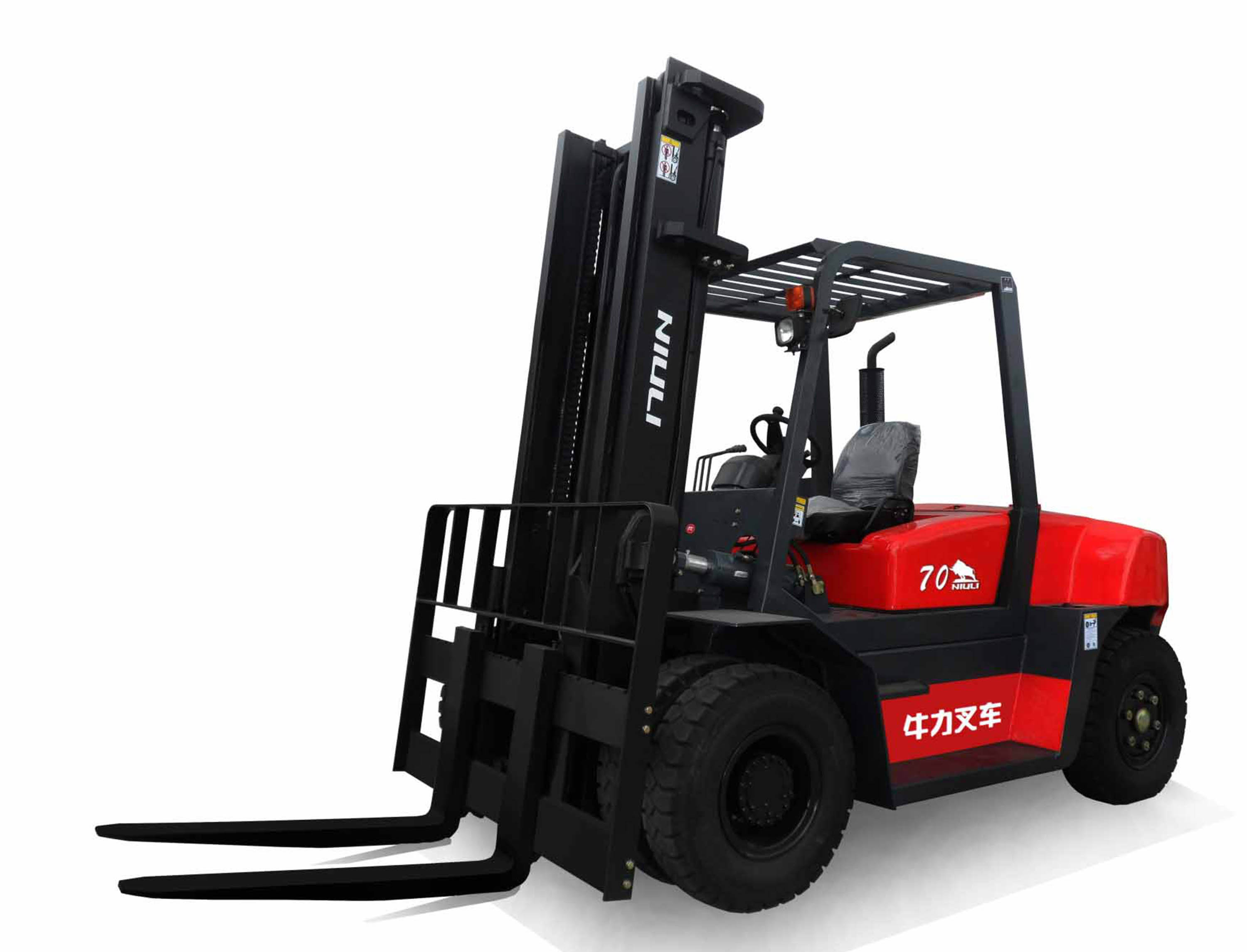 Niuli 7 Ton diesel forklift with certificates 4