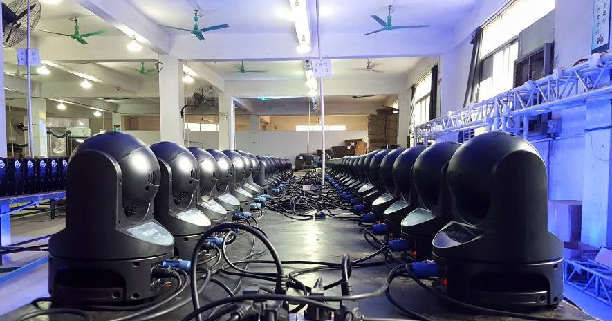 LED production line