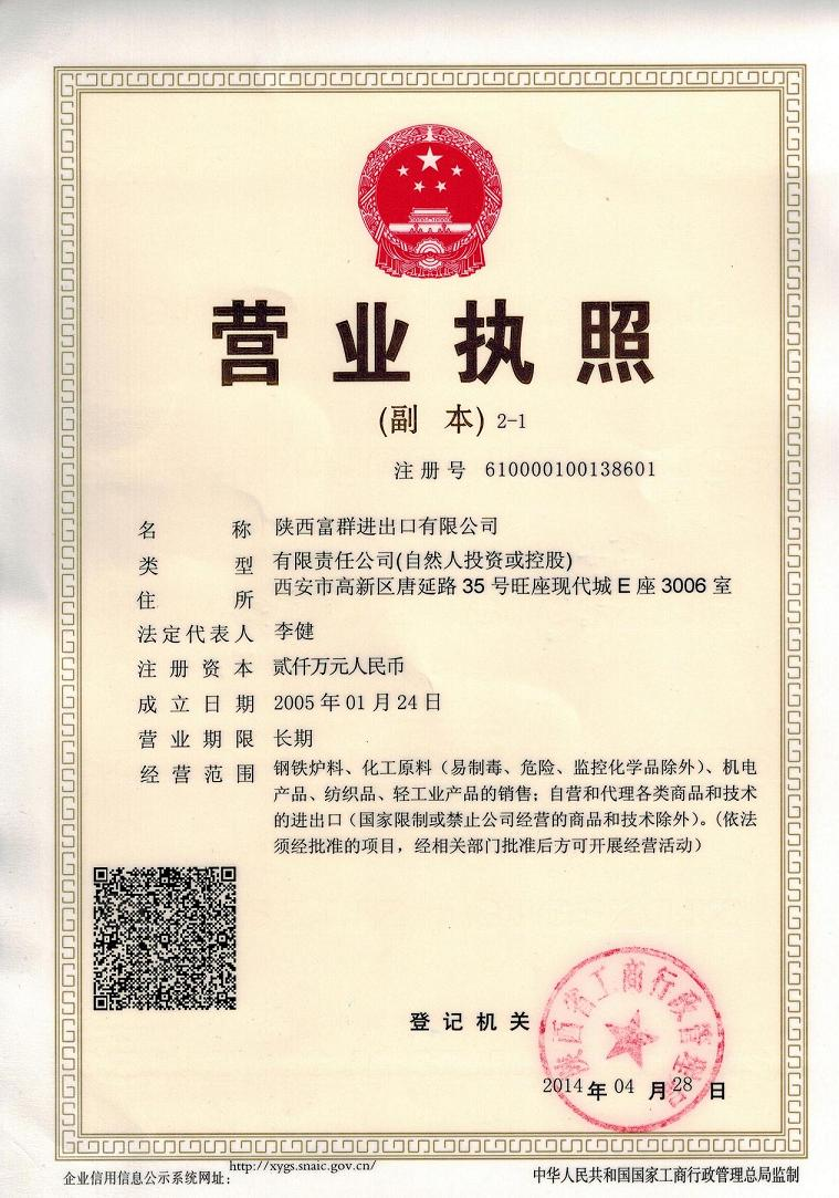 A Copy of Business License